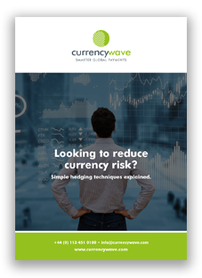 Man contemplating how to reduce currency risk